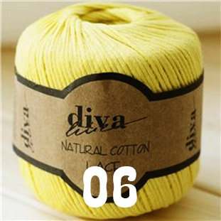 Diva Natural Cotton Lace (Дива Натурал Коттон Ласе)