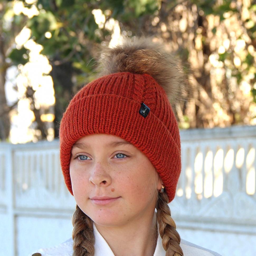 женская вязаные шапка спицами