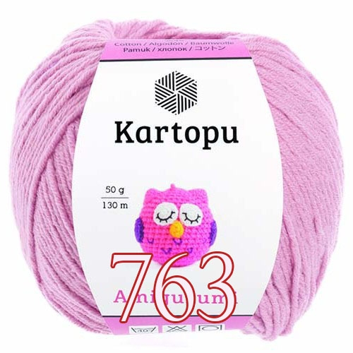 Kartopu Amigurumi Farbe K763 rosenholz | 500x500